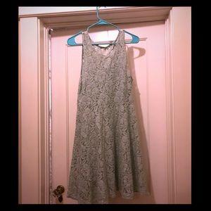 Seafoam Free People Lace Dress